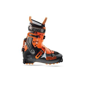 Atomic Backland Carbon Touringboot black/orange