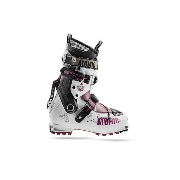 Atomic Backland WMN Skitouringboot white/berry