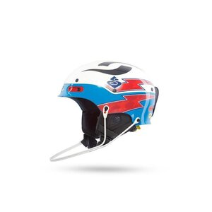 Sweet 840014 Trooper SL Helmet TE white/birdblue