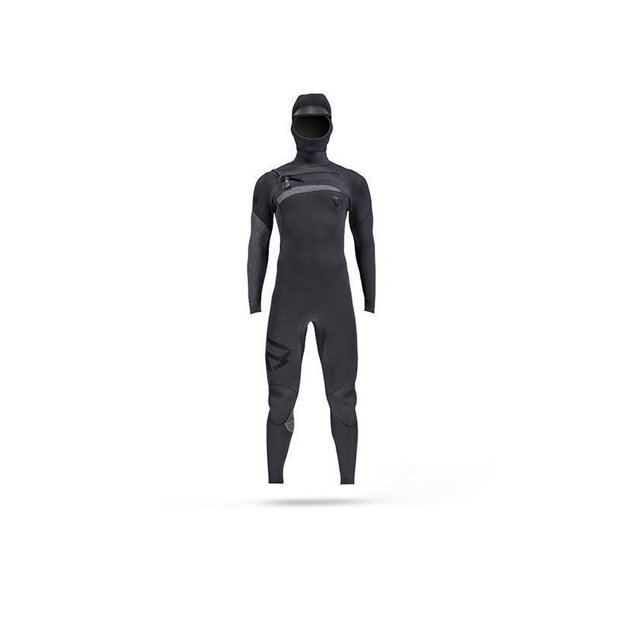Brunotti 100230 Bravo 6/4 Hooded Suit FZ black