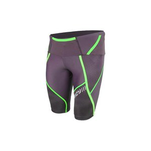 Crazy Idea SS17015183U Umbolt Shorts M black/greenfluo