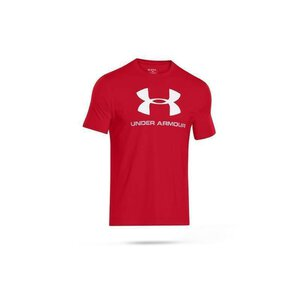 Under Armour 1257615 Sportstyle Logo red/stl/wht
