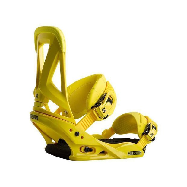 Burton 10546100-700 Mission Bindings yellow