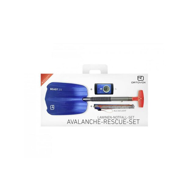 Ortovox 29751 Avalanche Rescue Kit blue ocean