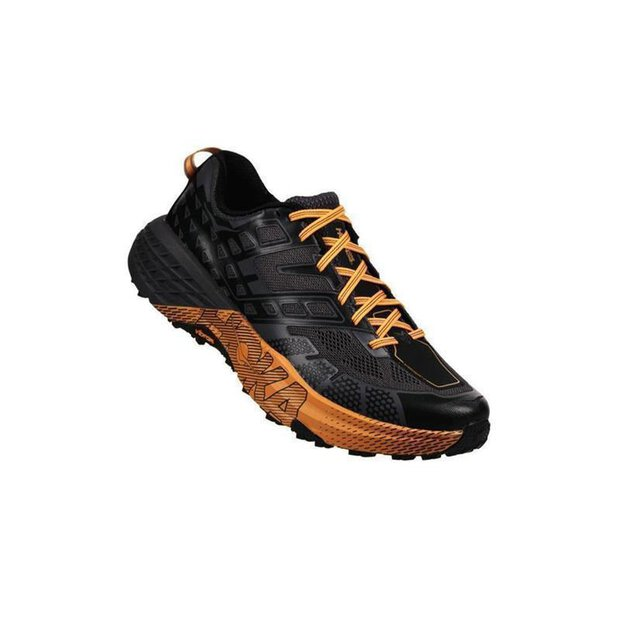 Hoka Speedgoat 2 M Shoe black/kumquat SIZE 8,5