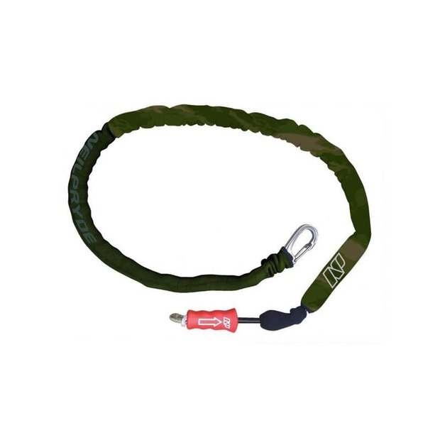 NP 166537 Teamrider Handle Leash olivecamo