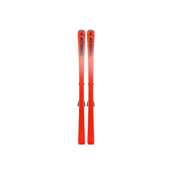 Atomic Redster Ski Red with Binding back