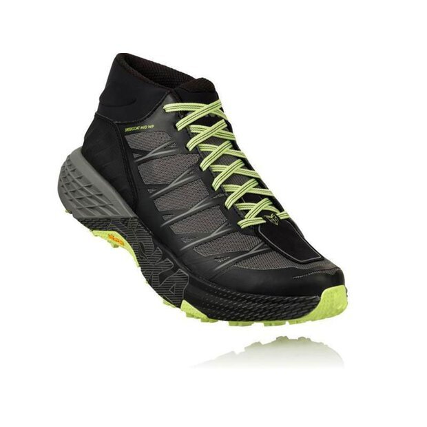 Hoka 1093760 Speedgoat MID M Shoe black/steelgrey