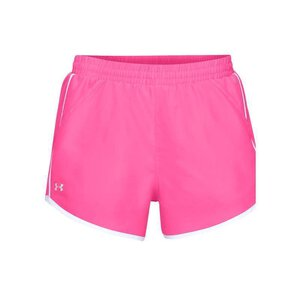 Under Armour 1297125 0641 Womens Fly by Shorts mojo/pink