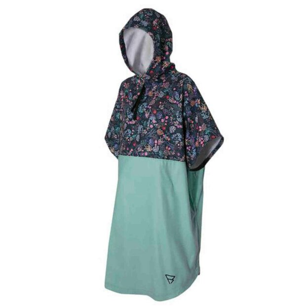 Brunotti 100516 Fleece Poncho coral