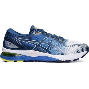 Asics 1011A714 Gel Nimbus 21 white/lake drive