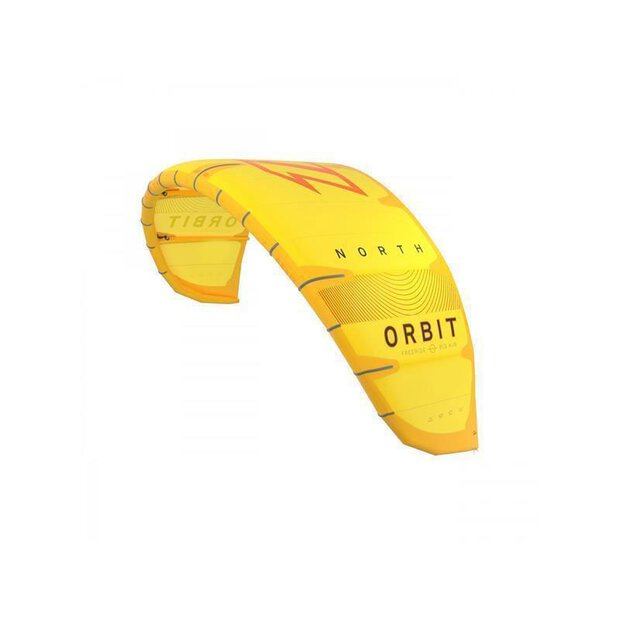 North 2020 Orbit Kite yellow 5m