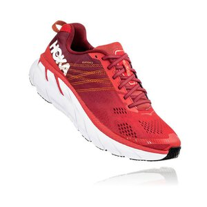 Hoka 1102872 Clifton 6 M Shoe poppyred/riored