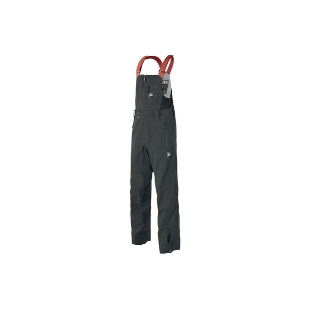 Picture MPT093 Welcome Bib Pant black