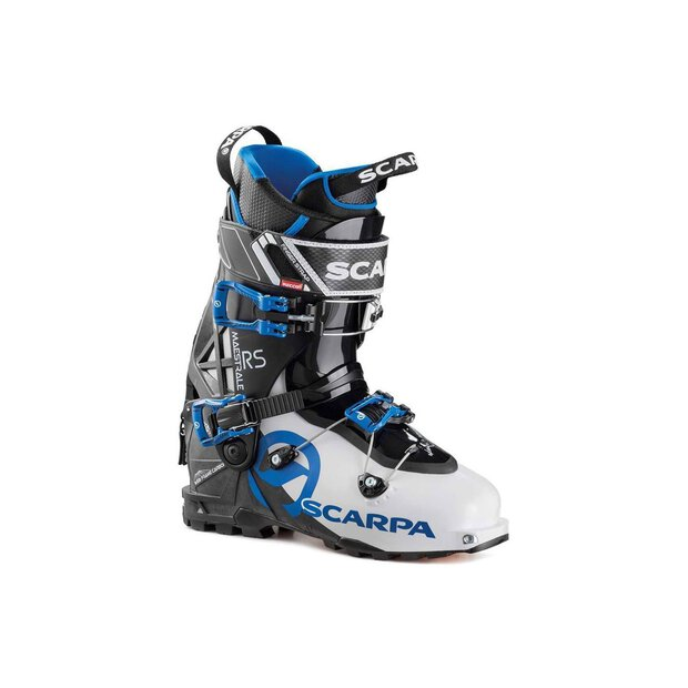 Scarpa 12046 Maestrale RS Skitouringboot wht/blk/blue