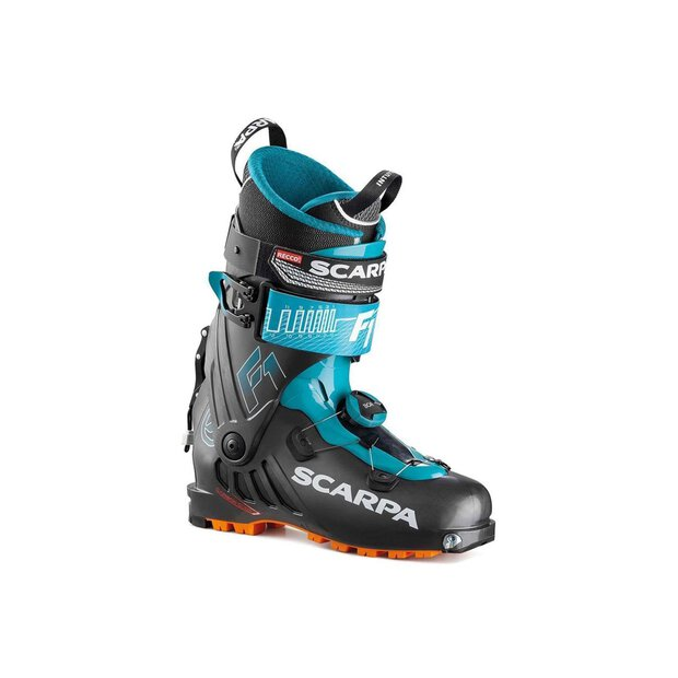 Scarpa 12166 F1 Skitouringboot anthr/blue SIZE 26,5