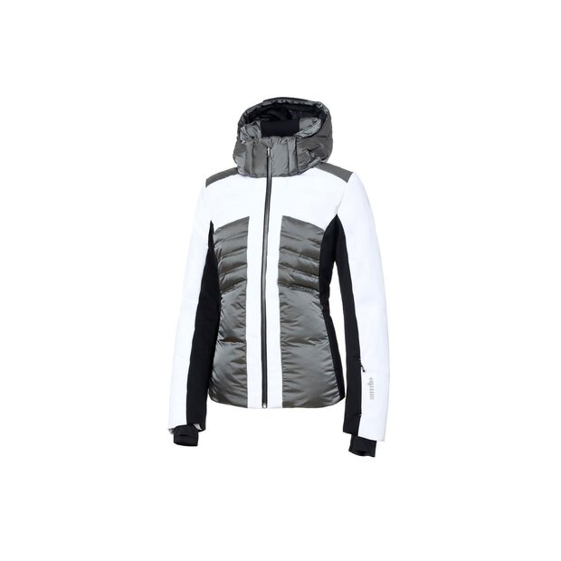 RH+ Ind2781 Galen Down W Jacket WHITE/WARM GREY