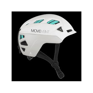 Movement 3 Tech Alpi Helmet ltgrey/white/torquoise