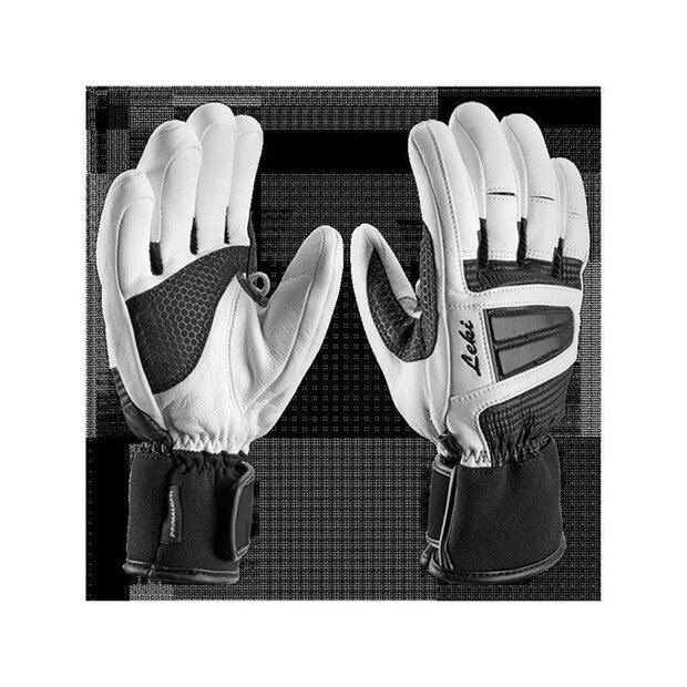Leki 63187152 Griffin S Lady Glove black-white SIZE 6,5