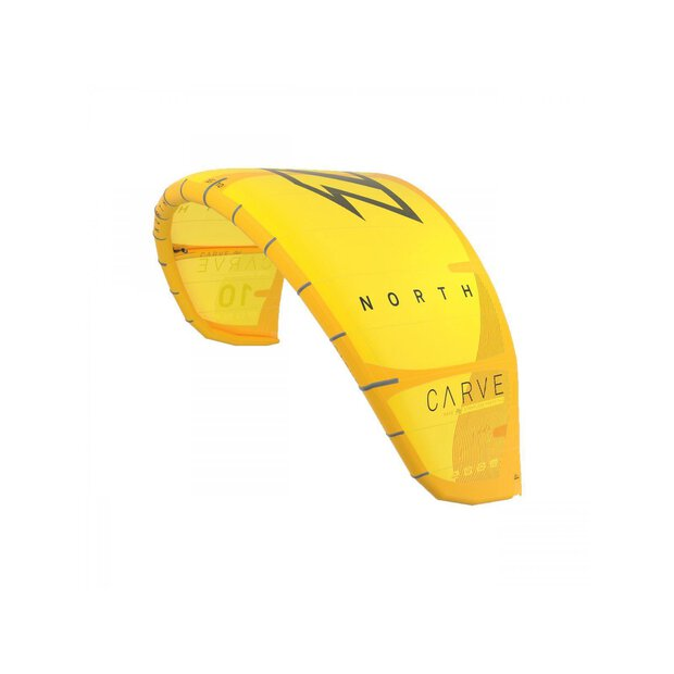 North 2020 Carve Kite yellow