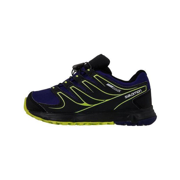 Salomon 369619 Steppy Shoe JR black/asphalt