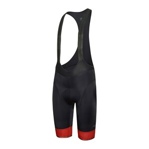 RH+ ECU0710 R97 Logo Bibshort M black-red code-reflex