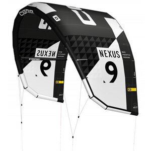 Core Nexus 2 Kite black incl. Bag and Repair Kit