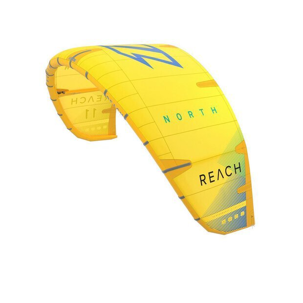 North 2020 Reach Kite yellow 15m