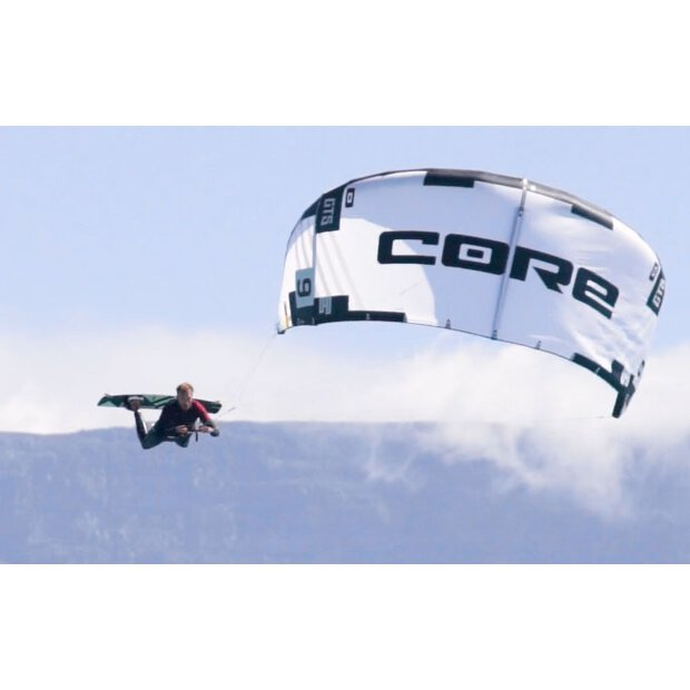 Core GTS6 Kite black inkl. Bag und Repairkit 12m
