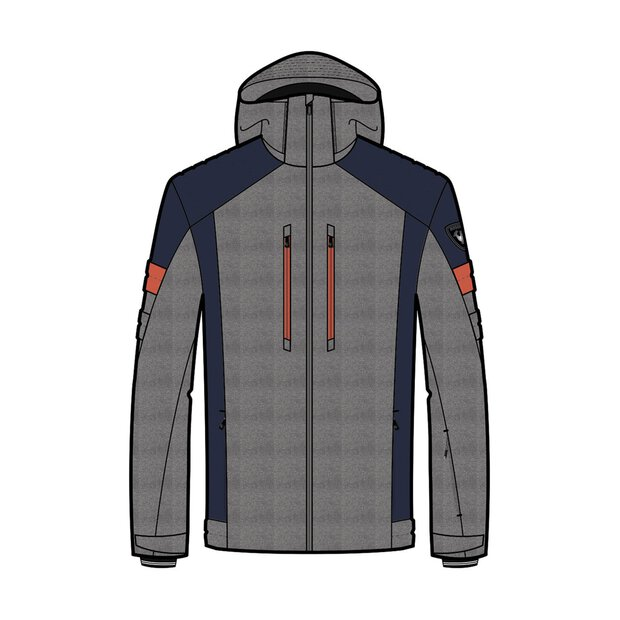 Rossignol RLIMJ08 200 Heather Ski Ski Jacket M