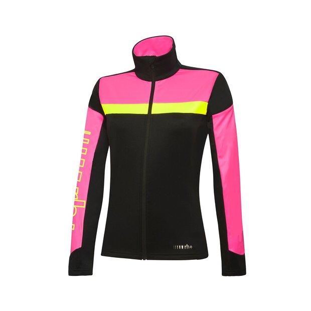 RH+ IND2863 Code Jersey W black-fluo pink-yellow fluo