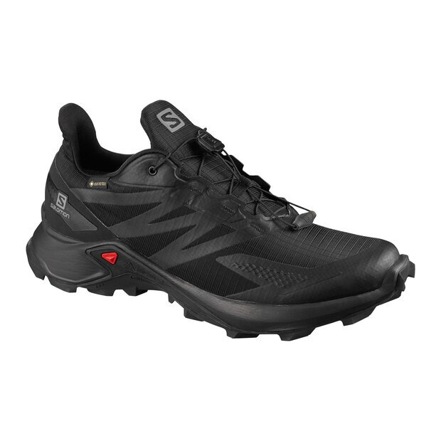 Salomon L41108500 Supercross Blast GTX Shoe M blk/blk