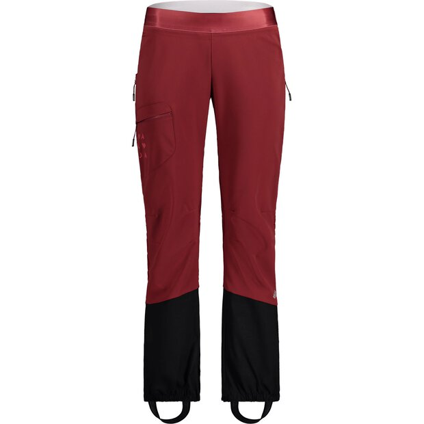 Maloja 30113 Punakha Mountaineering Pants W red monk