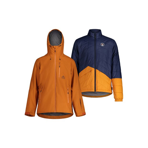 Maloja 30206 Köbi 3in1 Padded Jacket M dark tiger