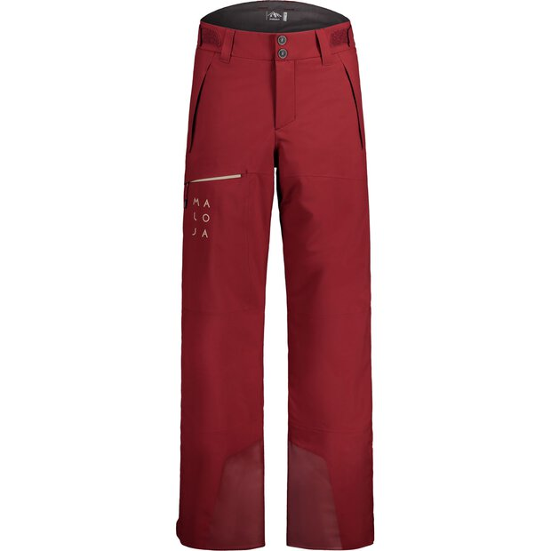 Maloja 30205 Deumeni Padded Pants M red monk
