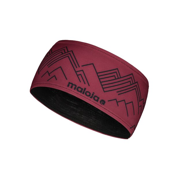 Maloja 30317 Rangjing Headband red monk
