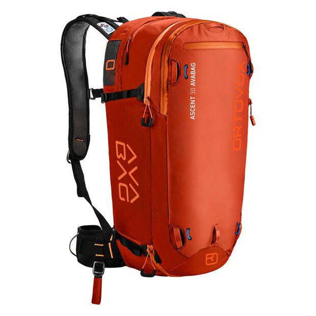 Ortovox 46102 Ascent 30 Avabag Kit desert orange
