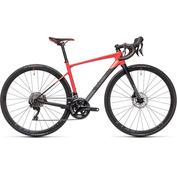 Cube Axial WS GTC Pro carbon and coral