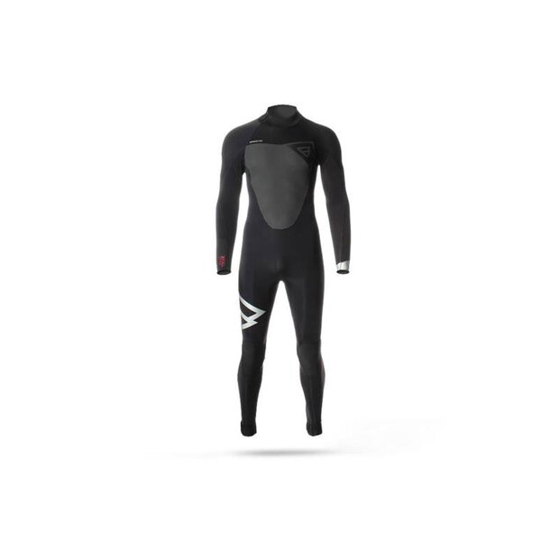 Brunotti 100003 Defence 5/3 DL M Wetsuit black/sil SIZE XS