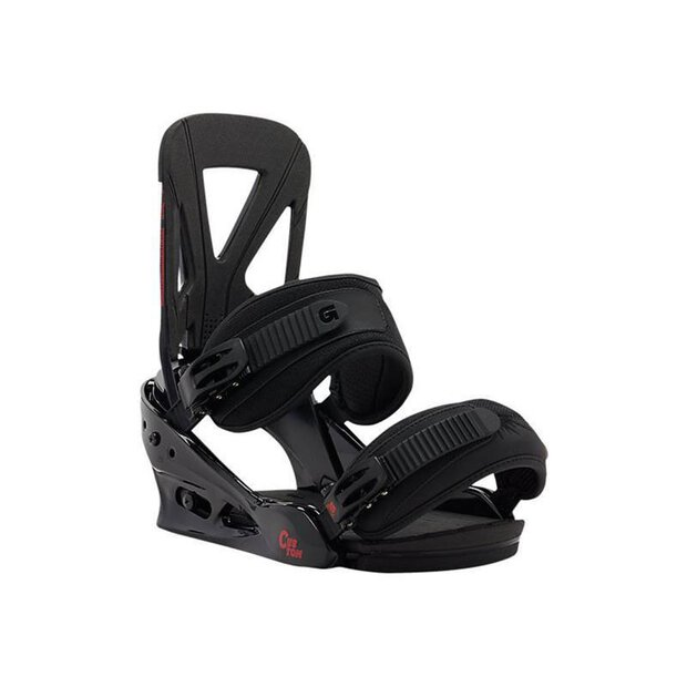 Burton 2016 Custom Snowboardbindings black/red